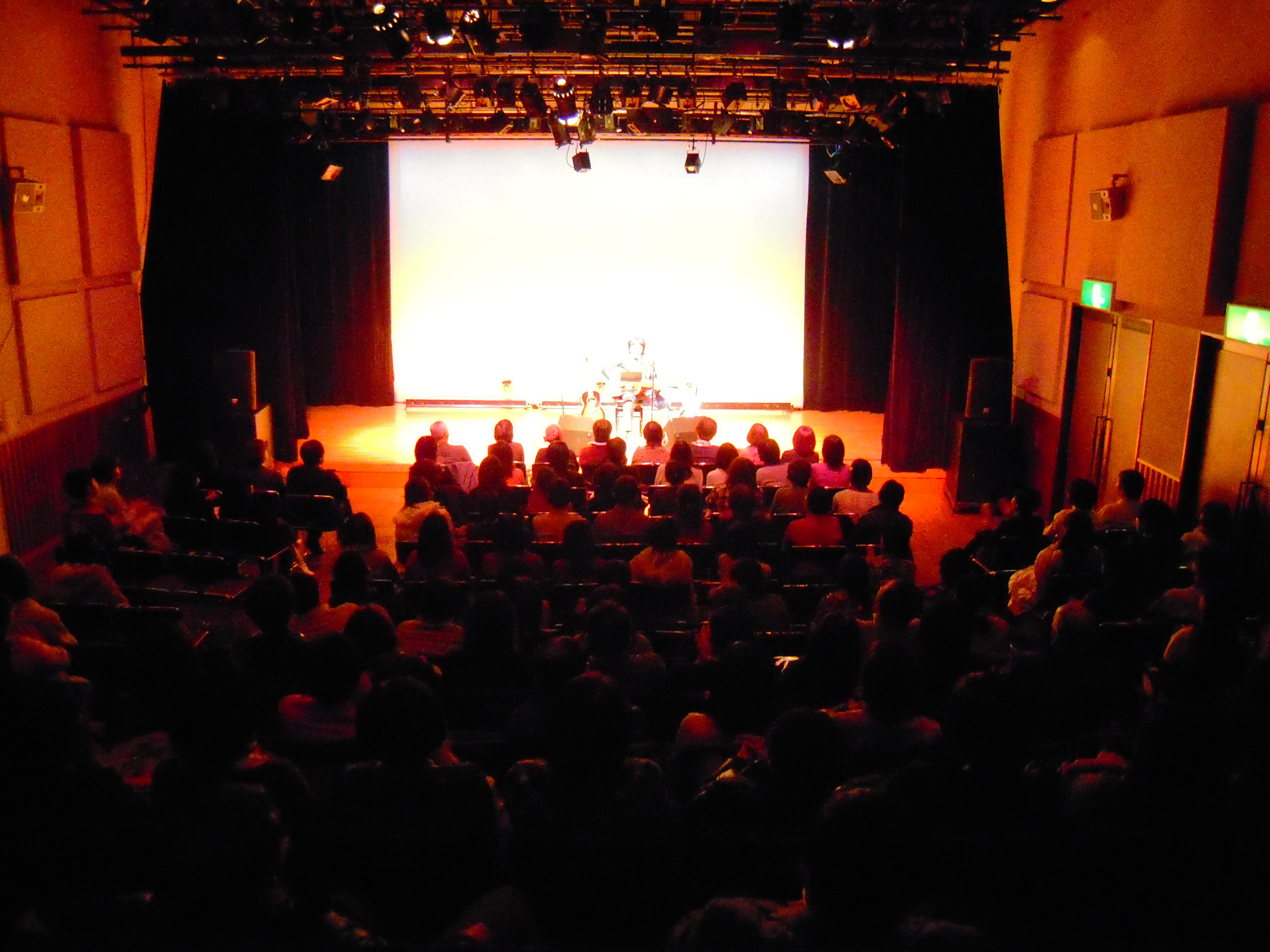 ステージと客席が一体と化した2時間でした
