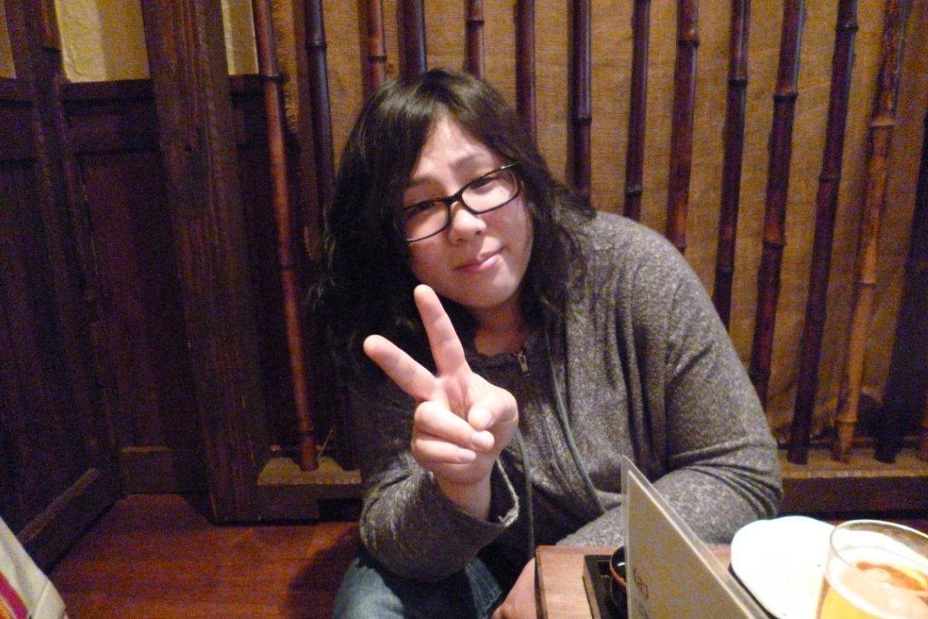 札幌から仕事で東京に来ていたベーシストの木村圭子さんもれんこ~ん!