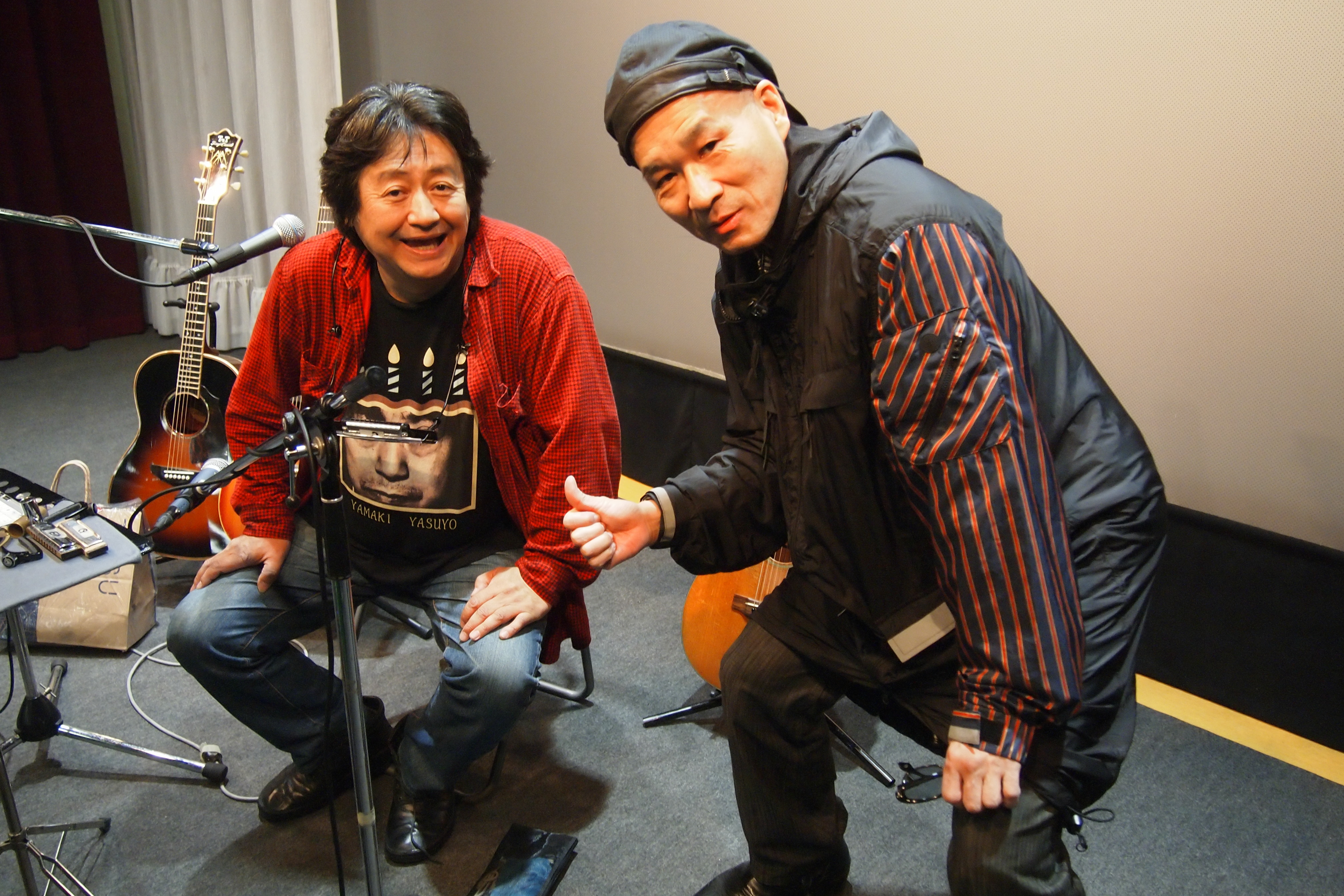 江古田マーキーの上野社長が激励に駆けつけてくださいました!