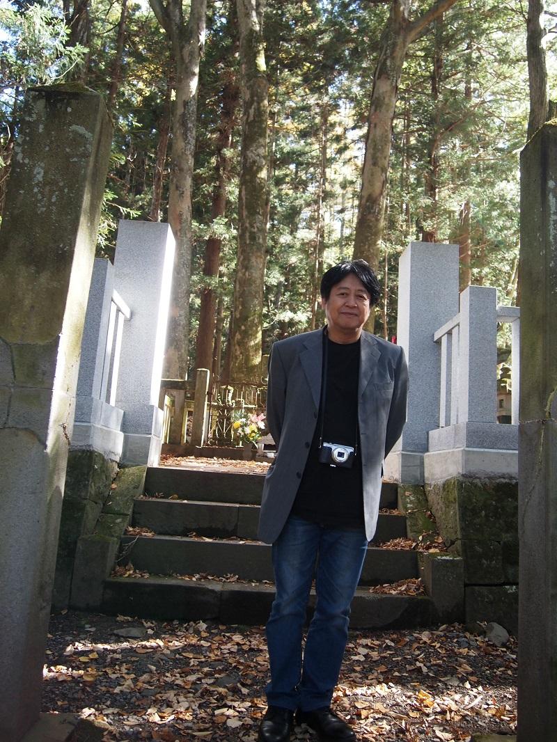 幸村の父・真田昌幸の墓所へ参拝