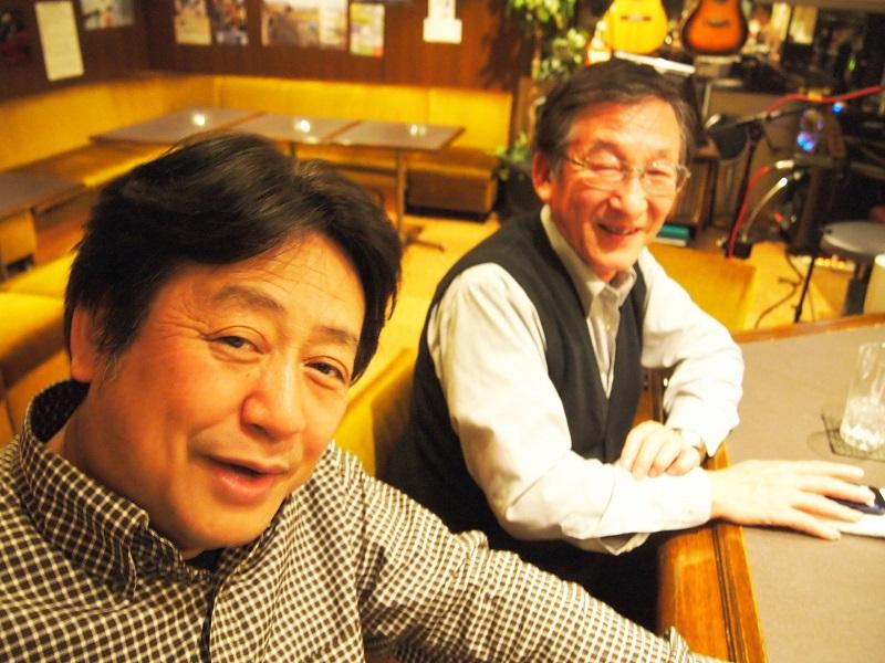 「白い冬」の工藤忠幸さんのお店でン十年ぶりの学生時代の旧友にバッタリ!