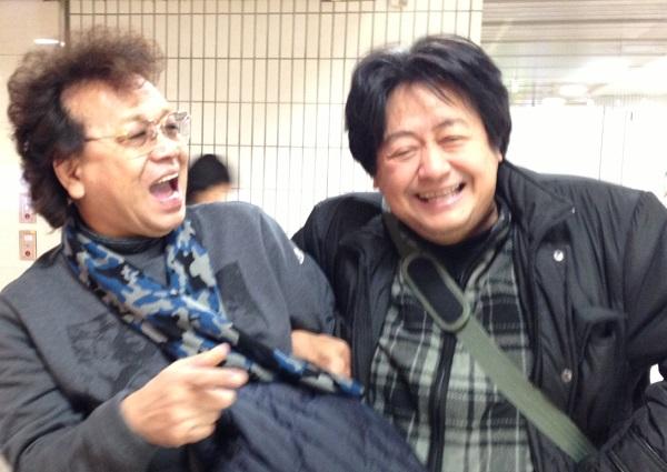 「新幹線ホームはどっち~?」「僕もわかんないっす!」