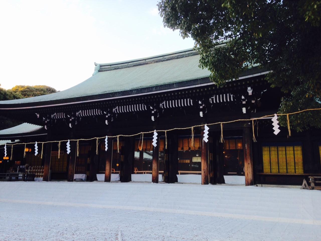 2015年明治神宮外拝殿